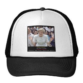 Princess Diana celebrates The Royal Wedding Cap
