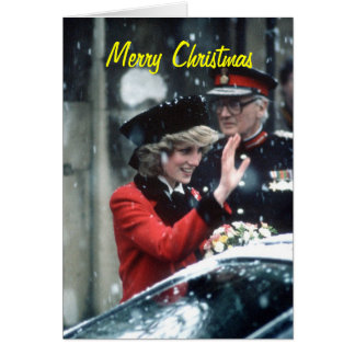Princess Diana Christmas Card