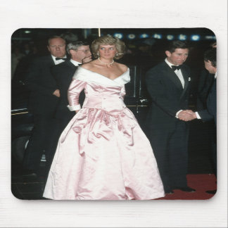 Princess Diana Germany 1987 Mousepad