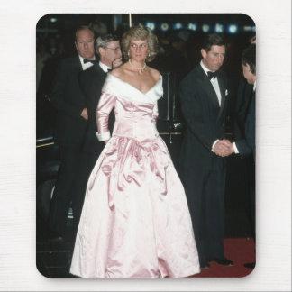 Princess Diana Germany 1987 Mousepad