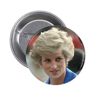 Princess Diana Hong Kong 1989 6 Cm Round Badge