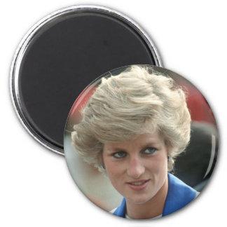Princess Diana Hong Kong 1989 6 Cm Round Magnet