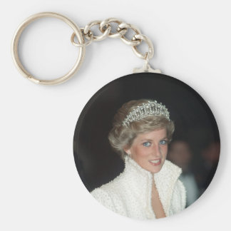 Princess Diana Hong Kong 1989 Key Ring