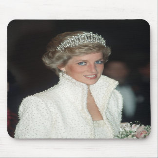 Princess Diana Hong Kong 1989 Mouse Mat