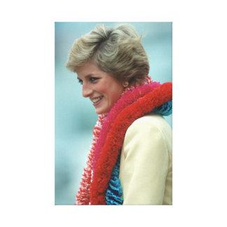Princess Diana Hong Kong Canvas Print