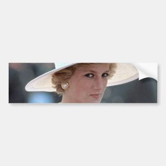 Princess Diana Hungary 1990 Bumper Sticker