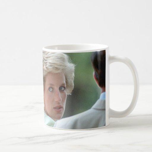 Princess Diana Hungary 1990 Mugs