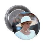 Princess Diana Hungary 1990 Pin