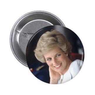 Princess Diana Nigeria 6 Cm Round Badge
