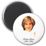 princess Diana Refrigerator Magnet