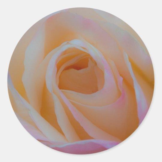 Princess Diana Rose Classic Round Sticker