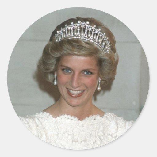 Princess Diana Washington 1985 Sticker