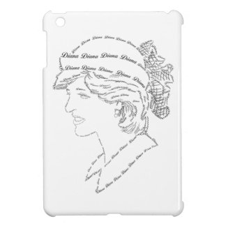 Princess Diana word art iPad Mini Cover