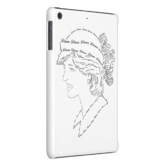Princess Diana word art iPad Mini Retina Cases