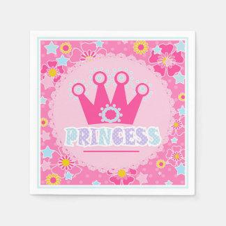 Princess . disposable napkin
