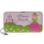 Princess Doodle Custom Speakers Personalised
