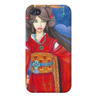 Princess Dragon Geisha iPhone 4 Case
