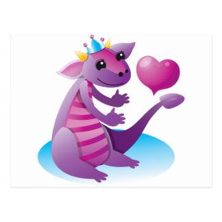 Princess Dragon Postcard