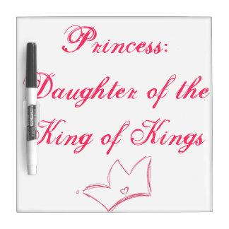 Princess Dry-Erase Whiteboards