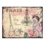 Princess Eiffel Tower & Chandelier Baby Shower