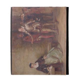 Princess Elizabeth (1533-1603) at the Tower (oil o iPad Folio Covers