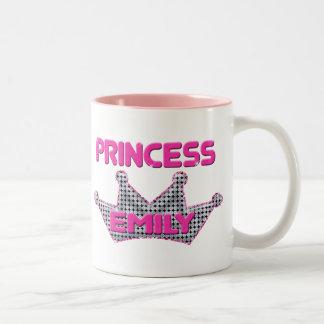 Princess Emily Two-Tone Coffee Mug