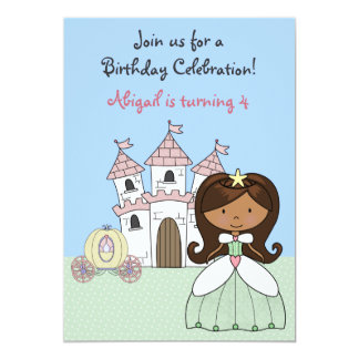 Princess Fairy Tale Birthday Invitation