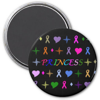 Princess Fashion Magnet Black