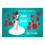 Princess & Flowers Bridal Shower Invitation