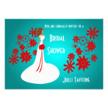 Princess & Flowers Bridal Shower Invitation 2