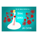 Princess & Flowers Bridal Shower Invitation 3