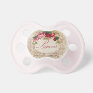 Princess French Inspired Pacifer for Girls Dummy