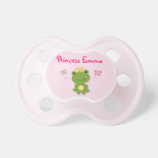 Princess Frog Fairy Tale Personalized Pacifier