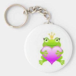 Princess Frog Key Ring