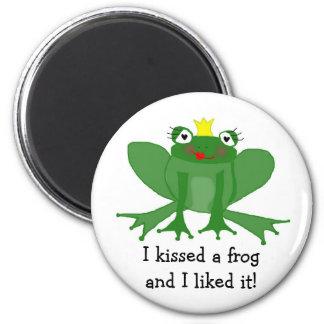 Princess Frog Magnet