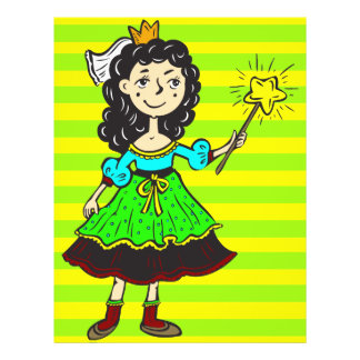 Princess Girl 21.5 Cm X 28 Cm Flyer