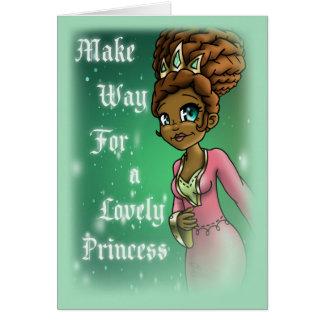 """""""Princess Hadassah Birthday Cards"""" Greeting Card"""