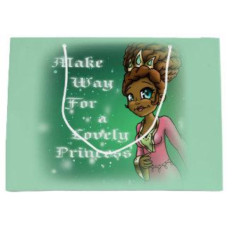 Princess Hadassah Birthday Gift Bag- Large, Glossy Large Gift Bag