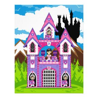 Princess & Heart Knights Castle Scene Flyer