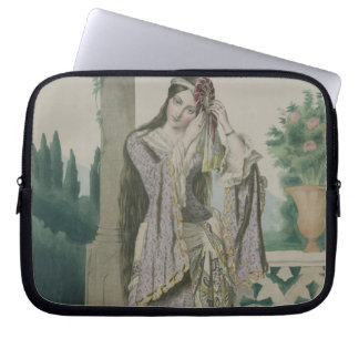 Princess Helen, engraved by the Thierry Brothers, Laptop Sleeve