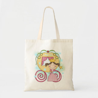 Princess in Carriage T-shirts and Gifts Budget Tote Bag