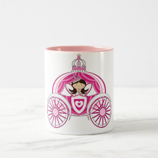 Princess in Royal Carriage Mug