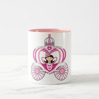 Princess in Royal Carriage Mug