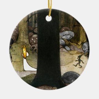 Princess in the Woods Christmas Ornament