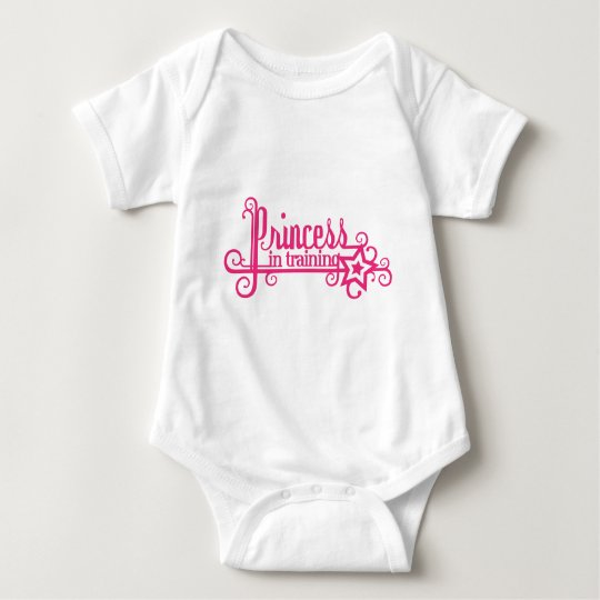 princess in training gifts and apparel baby bodysuit
