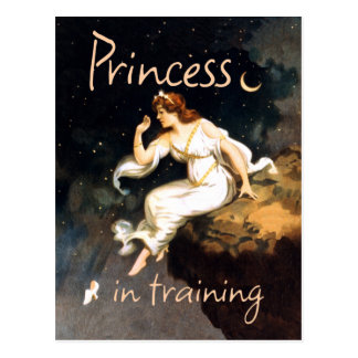 Princess in Training Postcard