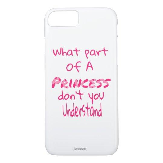 Princess iPhone 7 Case