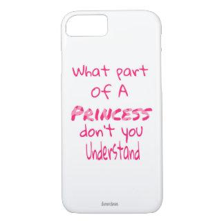Princess iPhone 8/7 Case