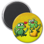 Princess is a Frog Now Magnets
