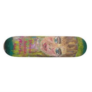 Princess Isabella Meets the Sky Skate Board